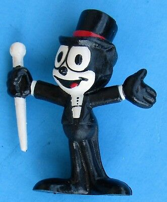 Vintage `89 Applause PVC Felix the Cat Top Hat Tux & Cane Figure