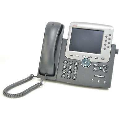 Cisco 7975 CP-7975G 8-Line IP VoIP Color Display Office Business Phone - Tested