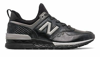 the best attitude c0149 8060e NEW BALANCE MALE Men's 574 Sport Black Panther Adult Black With Silver