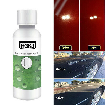 50ml HGKJ Car Paint Scratch Repair Remover Agent Coating Auto Waxing Maintenance