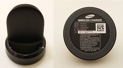Original OEM Samsung EP-OR720 Wireless Smartwatch Charger Black for Gear S2