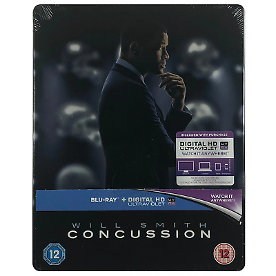 Concussion Steelbook - Limited Edition Blu-Ray **Region Free**