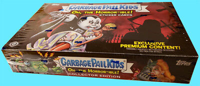 2018 GARBAGE PAIL KIDS Series 2 OH THE HORROR-IBLE COLLECTOR Ed. BOX New SEALED