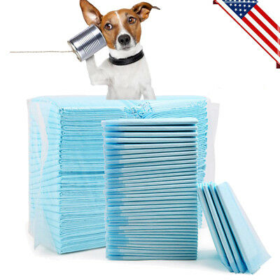 100x Puppy Pads Super Absorbent Leak-proof 100 Count Dog Cat Pee Training Pads A