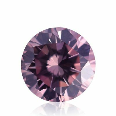 Moissanite Pink Color (VVS1) Round Cut 6.00 MM to 12.00 MM Genuine Loose