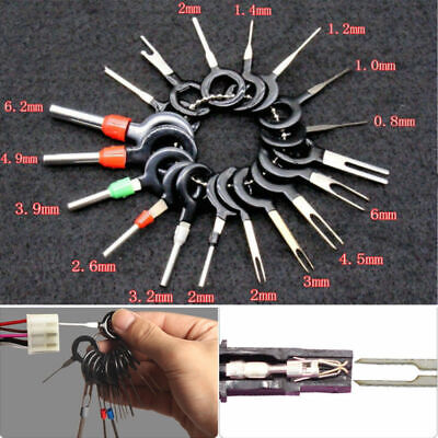 18X Wire Terminal Removal Tool Car Electrical Wiring Crimp Connector Pin Kit