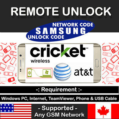 Instant Remote Unlock Code Service At&t J3/J7 Amp Express Prime 3 Sol 3 Star