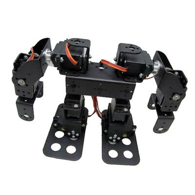 Flexible 8 DOF 2 Foot Biped Bipedal Walking Robot Kit w/ 15Kg/cm Servo