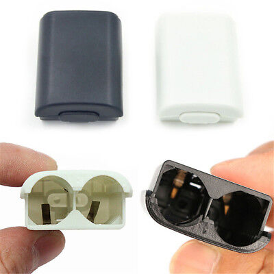 For Xbox 360 Slim Wireless Controller AA Battery Pack Case Cover Holder Shell UK
