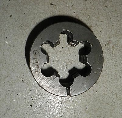 "BSF 1"" X 10, LH. OD 2"" HSS Split Die Button, GOLIATH"