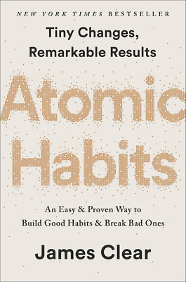 Atomic Habits by James Clear (AUDIO BOOK) + EB00K + PDF 🥇 ‮relleS detaR poT