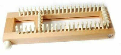 KB Knitting Board Sock Loom 2, Adjustable with Case, Hook & Instructions