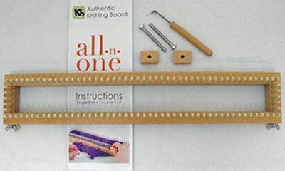 "KB All-n-One Loom 18"" 45cm All In One Knitting Board / Sock Loom / Round Loom"