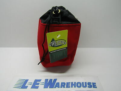Weaver Leather Arborist Lineman Small Throw Line Storage Bag - Red 08-07140