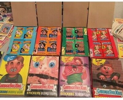 50 Original Garbage Pail Kids Cards Series 1-15! & Bonus Item Worth $5-$350 Free