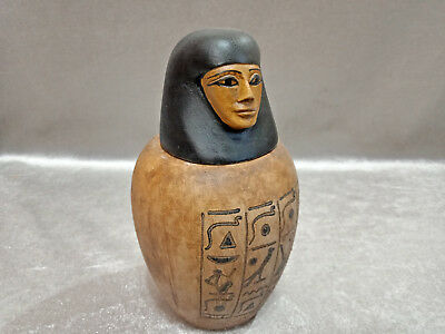 Canopic Jar for Tjuya Valley of the Kings Reign of Amenhotep III Egypt Antique