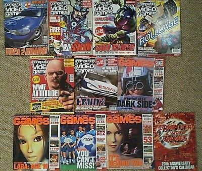 CVG Computer and Video Games Magazine 10 Issues & calendar