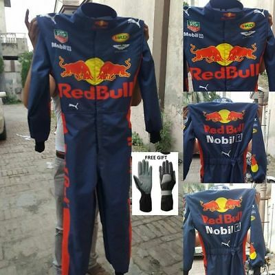 Redbull Go Kart Racing Suit CIK/FIA Level 2 Approved includes Free Gift