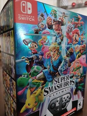 Brand New Sealed!! Super Smash Bros Ultimate Special Edition - Nintendo Switch