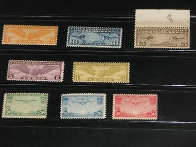 US Early Airmail, all MNH
