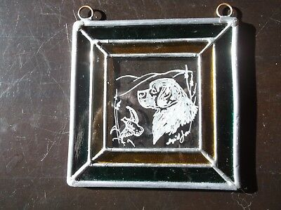 Clumber Spaniel -  Beautifully  Hand Engraved  Ornament by Ingrid Jonsson.