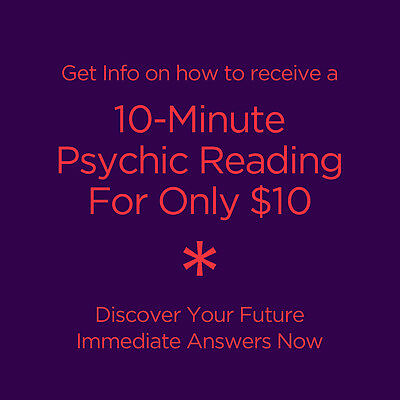 How to get a Psychic Chat / Phone - 10 Minutes for $10 & Rebate