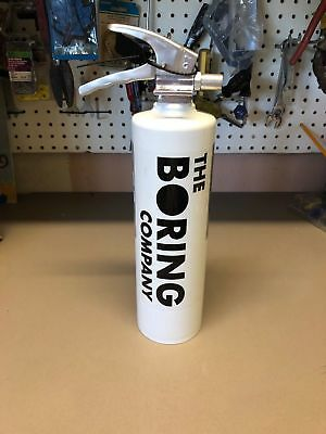 The Boring Company Fire Extinguisher Collectible Elon Musk Not-A-Flamethrower
