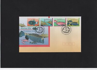 1996 Christmas Island Marine Life First Day Cover