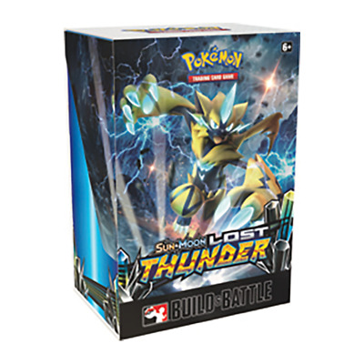 Pokemon Lost Thunder Prerelease Kit Build and Battle Box Sun & Moon TCG Cards
