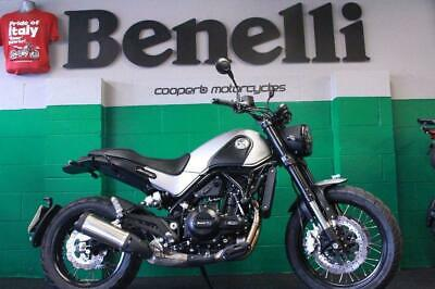 2019 Benelli Leoncino 500 Trail Abs £699 Deposit 36 X £96.27 Pcp Demo Available!