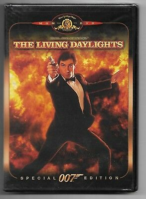 The Living Daylights, Special Edition (RARE Factory Sealed 2000 DVD)