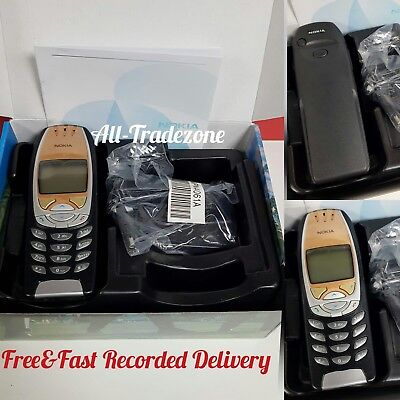 New Condition Nokia 6310i - Jet Black (Unlocked)Mobile Phone + 6 Months Warranty