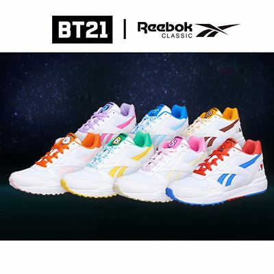 7ca5da9a2291 BTS BT21 OFFICIAI Authentic Goods ROYAL COMPLETE2LCS Shoes by Reebok ...