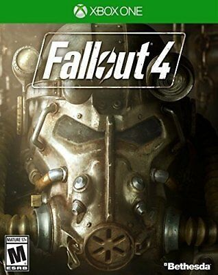 Fallout 4 (Microsoft Xbox One, 2015) w/Fallout 3 Digital Code Offer (Brand New)