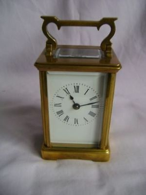 French striking Carriage Clock C1880