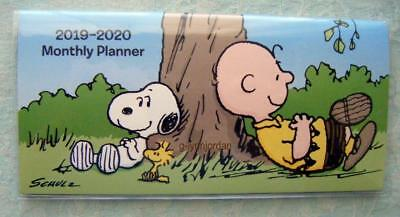Peanuts 2019-2020 Two Year Planner Pocket Calendar Snoopy New Hallmark