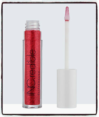INC.redible Lip Topper Glittergasm _RED HOT READY 3ml SEALED - FREE POSTAGE