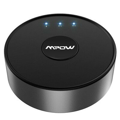 Mpow Wireless Bluetooth 5.0 Transmitter for TV Audio Adapter w/ aptX 50FT Range