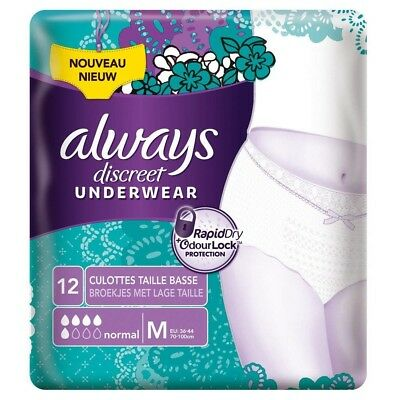 """Always Discreet Pants 5 Drops M - """"couches adultes femme"""""""