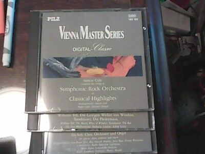 18 PILZ Vienna Master Series Various Composers Digital Classic CDs - See List!