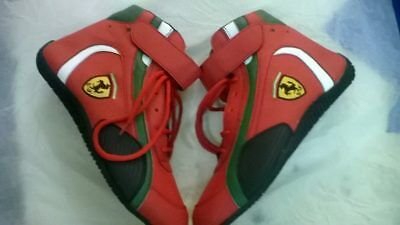 Ferrari Go Kart Racing Shoes with free Gift Balaclava