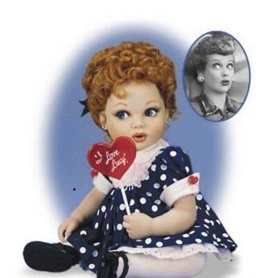 Franklin Mint I Love Lucy Portrait Baby Doll
