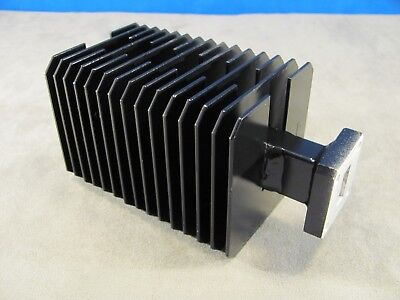 Waveguide WR75 High Power Load Ku-band  10 - 15 Ghz Cover Smooth Flange<280>