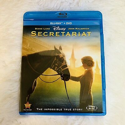 Disney's Secretariat (Blu-ray/DVD, 2011, 2-Disc Set)