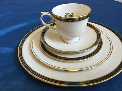 Lenox AMBASSADOR  Langdon Gate 5 piece place setting  NEW partial tags
