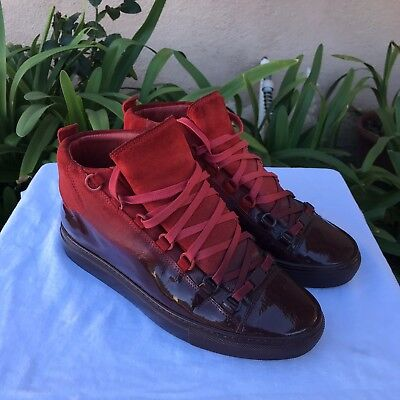 ee048b3ebede FINAL PRICE Authentic Balenciaga Arena Ombre Leather High Top Sneakers Shoes