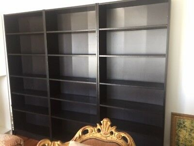 Libreria Billy Ikea Con Ante.Ikea Billy Bookcase Black Brown Archives Home Decorating Styles