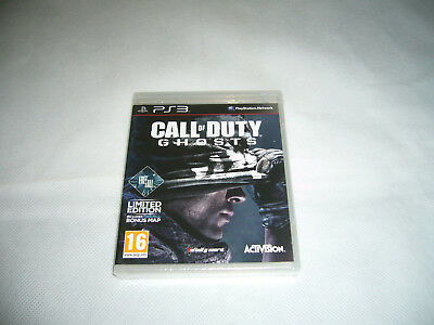 Brand New & Sealed Ps3 Playstation 3 Call of Duty: Ghosts Free Postage