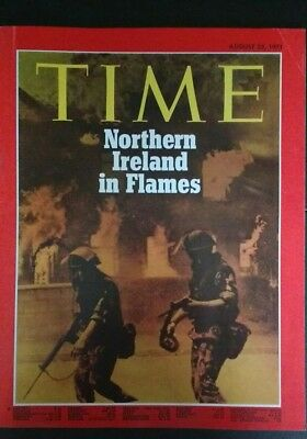 Time Magazine, August 23, 1971. Northern Ireland In Flames.