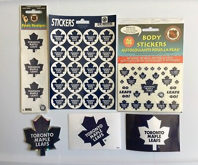 Toronto Maple Leafs NHL Lot Of Stickers Decals